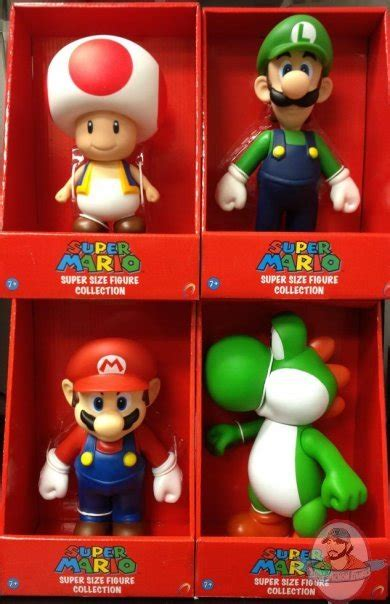 9 inch figures mario 9 inch figure set of 4 of