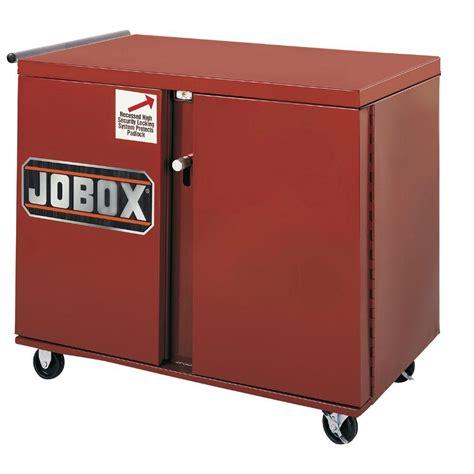 jobox rolling work bench jobox 43 in 4 drawer rolling steel work bench cabinet