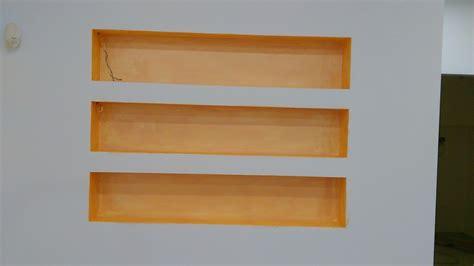 mensole in muratura foto mensole in muratura decorate con terre fiorentine di