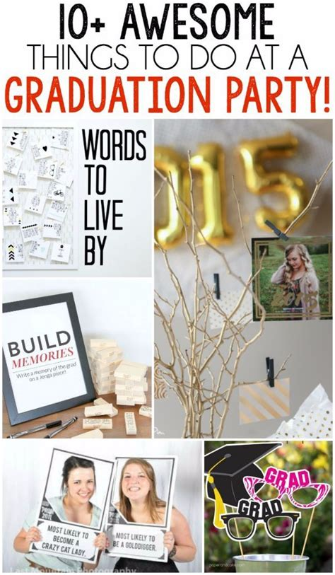 10 graduation party games and activities party ideas