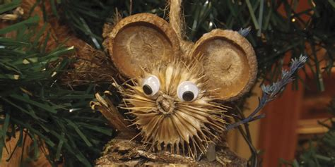 teasel the new tinsel ornaments add nature to holiday