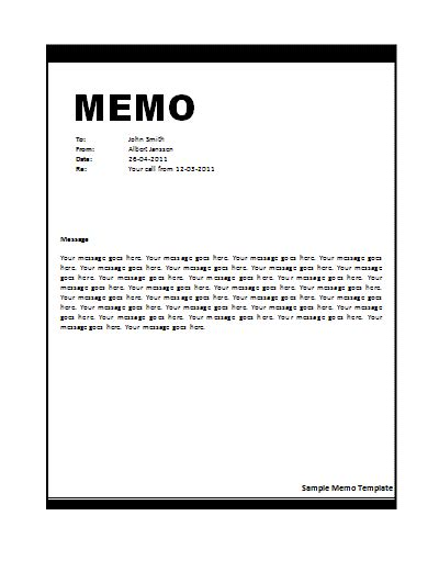 Memo Template Word Don T Forget To Read Our Privacy Policy Before Going To