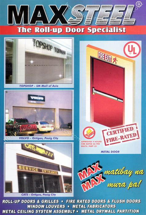 Doors Home Depot Interior roll up doors amp grilles fire rated door amp flush door