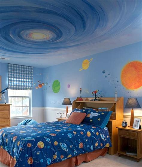 15 space themed bedrooms for boys rilane