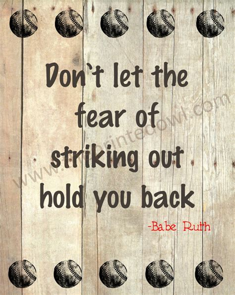 printable baseball quotes baseball sayings by babe ruth www imgkid com the image