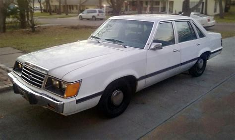 1985 Ford Ltd package 1985 ford ltd ssp