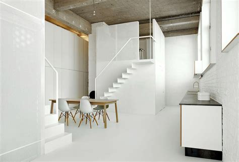 two small lofts inside a loft modern house designs