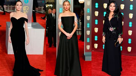 alfombra negra la alfombra negra de los premios bafta 2018 de