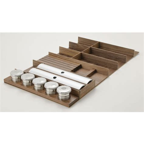 Spice Drawer Inserts by Hafele Quot Fineline Quot Cutlery Tray Spice Drawer Insert