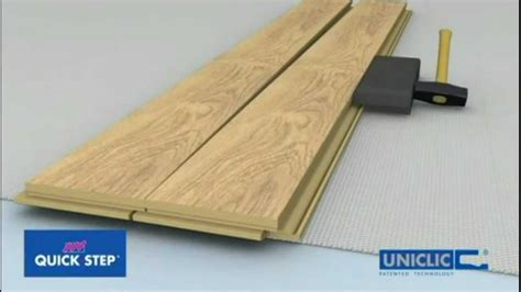 onflooring quick step uniclic laminate flooring floating floor installation youtube