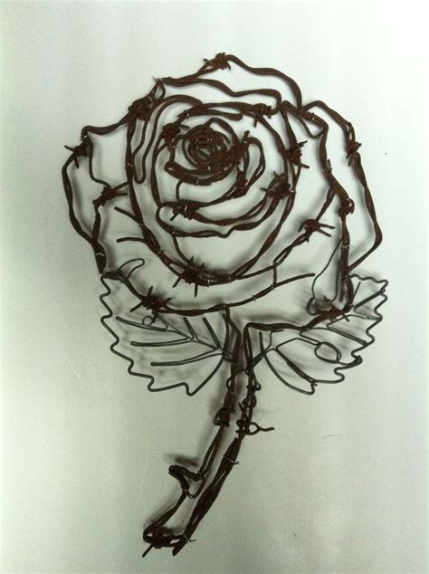 metal rose tattoo 25 best ideas about barbed wire tattoos on