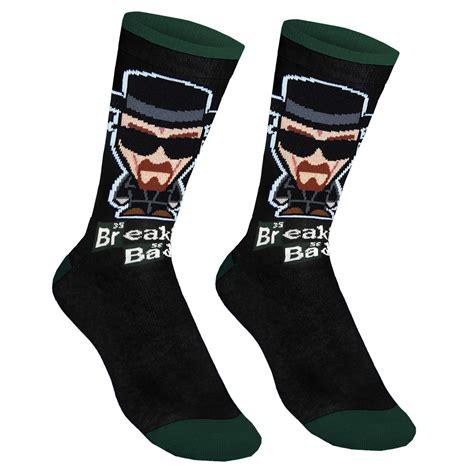 breaking bad official gift 1 pair of mens socks walter