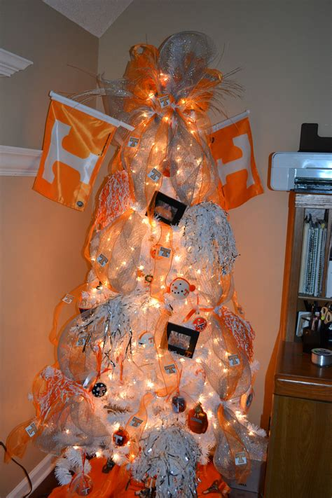 tn vol tree in the office christmas at my house