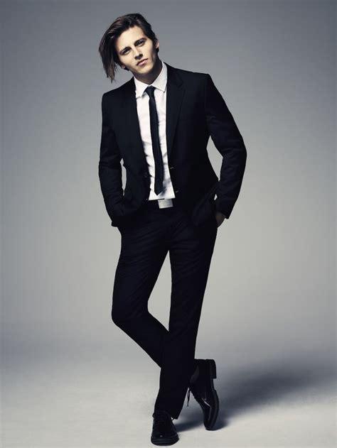 black tie white shirt black suit los angeles