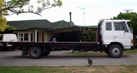 flat bed trucks a flatbed truck home that has everything you need