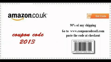 discount vouchers amazon uk amazon uk coupon code 2015 youtube