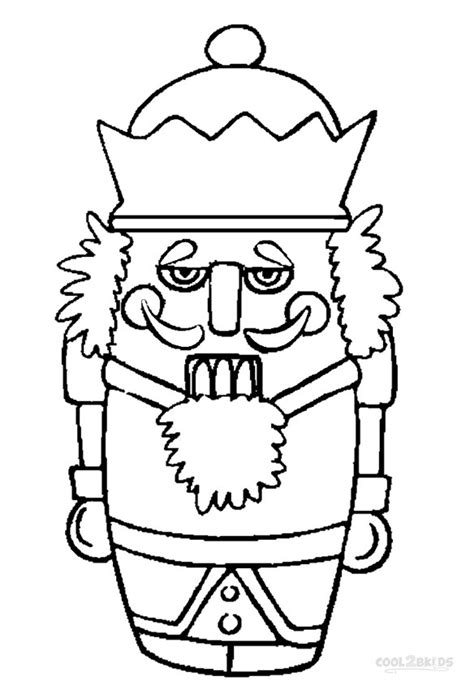 free coloring pages of a nutcracker soldier