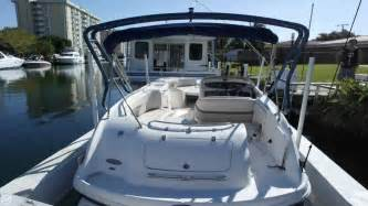 used chaparral boats for sale florida 2005 used chaparral 252 sunesta deck boat for sale