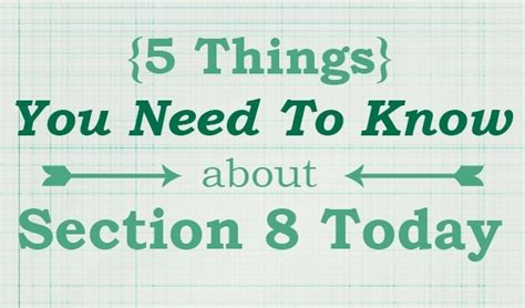 i need section 8 5 things you need to know about section 8 today