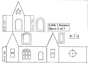 house patterns best photos of haunted putz house free templates haunted