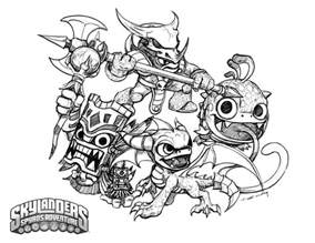 skylander coloring pages crabfu skylanders speed drawing coloring pages