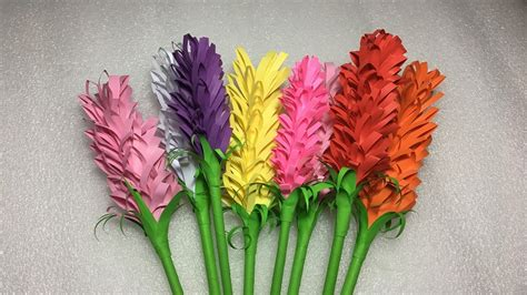 lavender paper flower tutorial how to make easy lavender flower origami paper tutorials