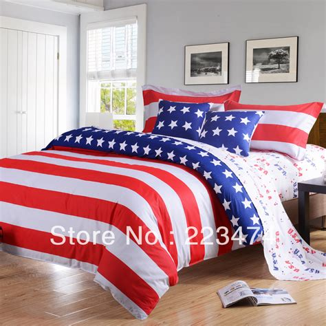 bed sheets queen size free freeshipping american flag bedding sets queen size king size bed sheets comforter