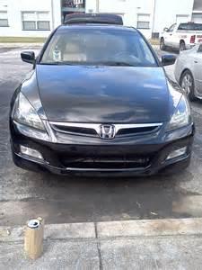 2006 sedan oem front bumper on a 2003 sedan honda accord