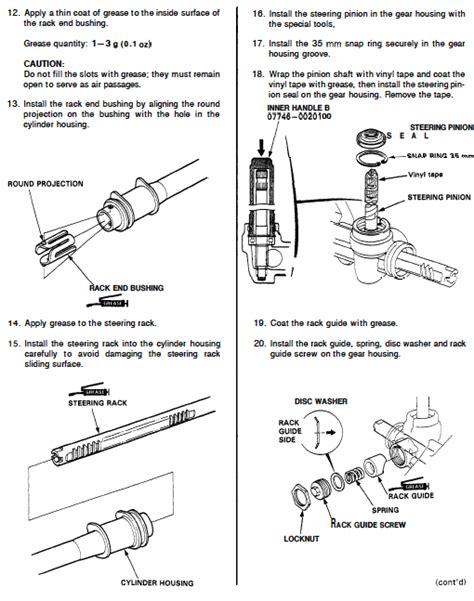 How To Remove Rack And Pinion by How To Remove Pinion Assembly From Manual Steering Rack