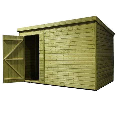 Sheds Tongue And Groove by 10 X 7 Windowless Pressure Treated Tongue And Groove Pent