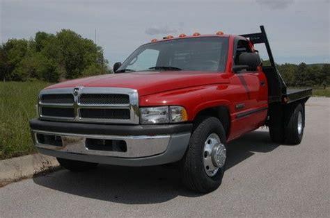 2000 dodge ram 3500 diesel buy used 2000 dodge ram 3500 reg cab dually w flatbed 5