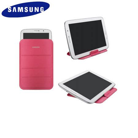 Samsung Tab 3 Pink official samsung galaxy tab 3 8 0 stand pouch pink mobilezap australia