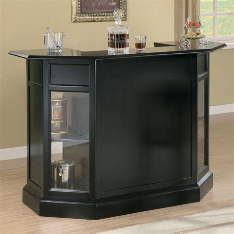 Coaster Fine Furniture Modern Bar Unit Atg Stores Bars Furniture Modern