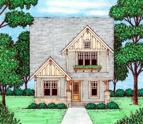 tudor house elevations house plan 53835 at familyhomeplans com