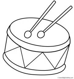 drum coloring page drum coloring page musical instruments