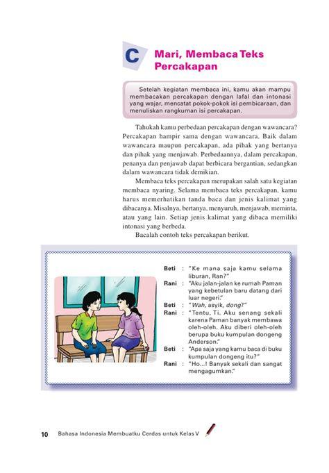 Jual Buku Bacaan Anak Sd Kelas 1 by Sd Mi Kelas05 Bahasa Indonesia Membuatku Cerdas Edi