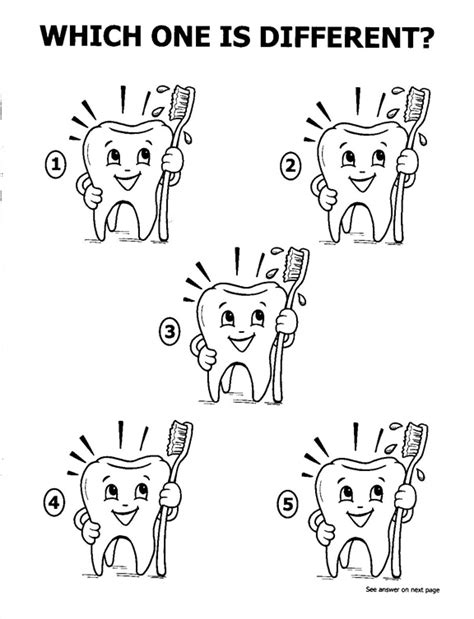 dental coloring pages for preschool teeth coloring pages pediatric dentist for children