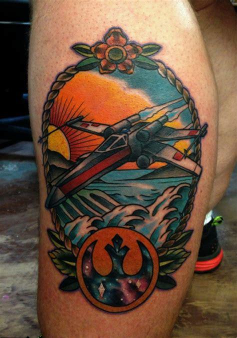 x wing tattoo 55 best wars tattoos period the end tattooblend