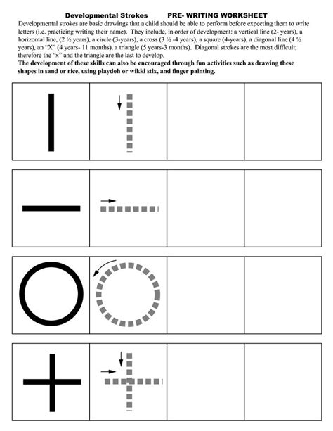 Skills Worksheets by 25 Best Ideas About Prewriting Skills On Pre