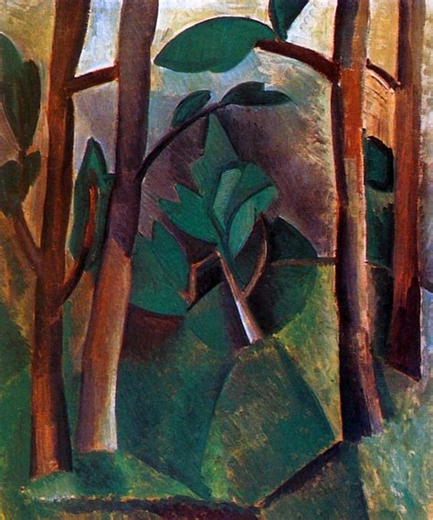 picasso nature paintings artwork by pablo picasso landscape 1908 on canvas
