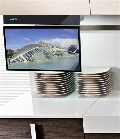 kitchen tv under cabinet under cabinet 17 inch smart tv a business crowdfunding