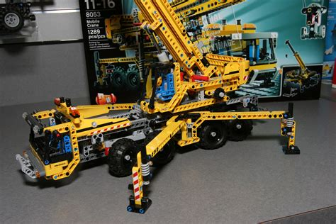 Lego Technic Mobile Crane 8053 technicbricks high res pictures of 2h10 technic sets now
