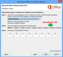 microsoft office 2013 product key serial number computer