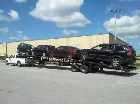Infinity Auto Transport by 17 Best Images About 4 Car Hauler Trailer On