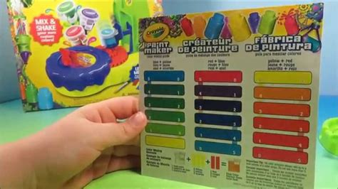 crayola paint maker play kit easy diy make your own color paint