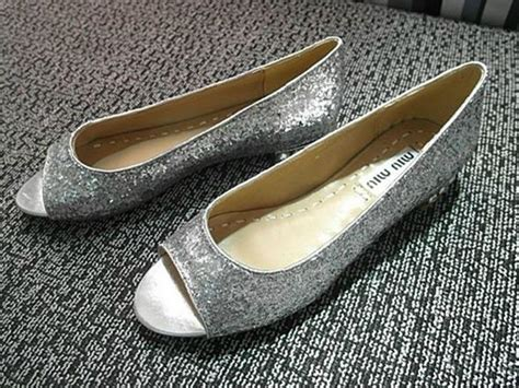 gold peep toe flat shoes simple flats shoes peep toe flat heel gold gray
