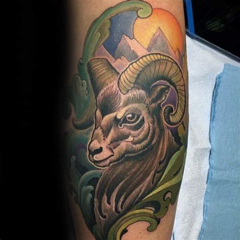 100 ram tattoo designs f 252 r m 228 nner bighorn sheep ink