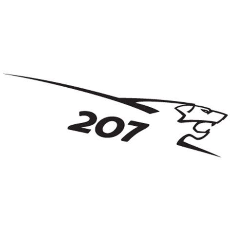 logo peugeot vector peugeot 207 lion logo vector free