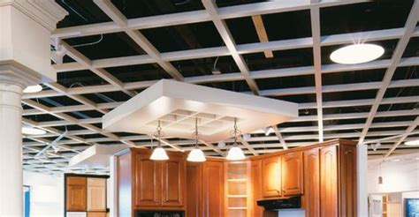 Chicago Grid Ceiling chicago metallic ceiling design and products on