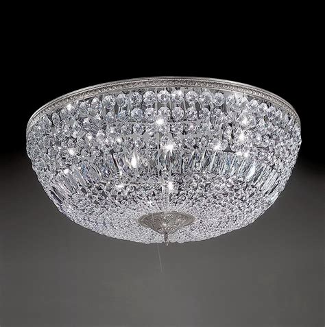 crystal flush mount light fixture flush mount crystal ceiling light fixtures home design ideas